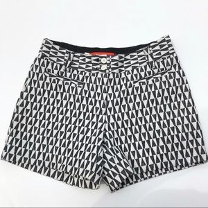 Anthropology Cartonnier cute geometric shorts SZ 2